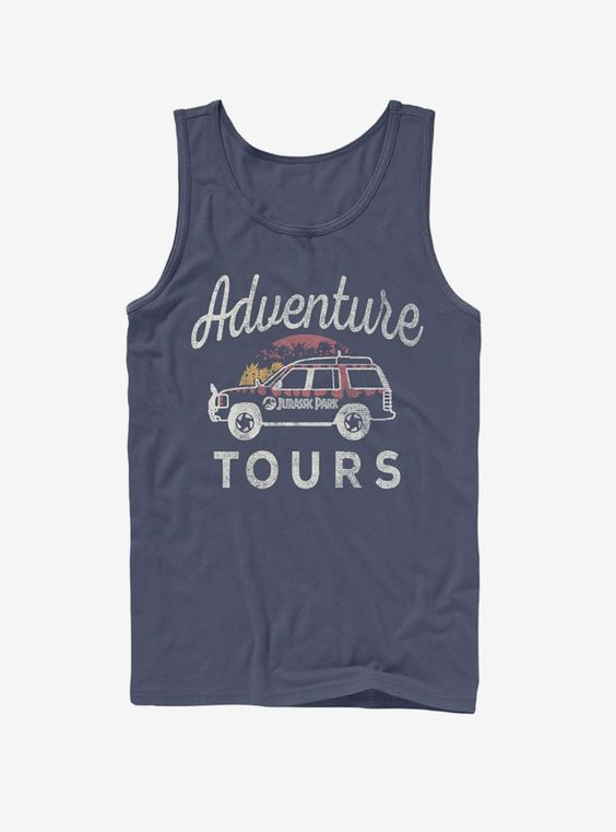 Adventure Car Tours Tank Top DV01