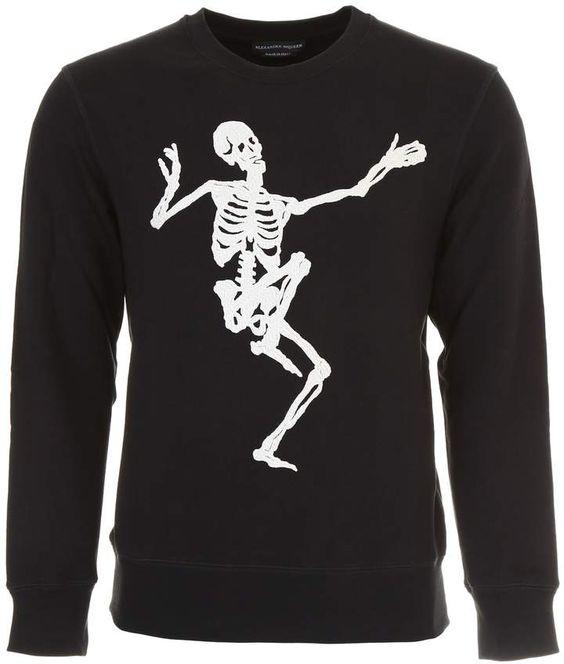 Alexander McQueen Skull Sweatshirt DV01