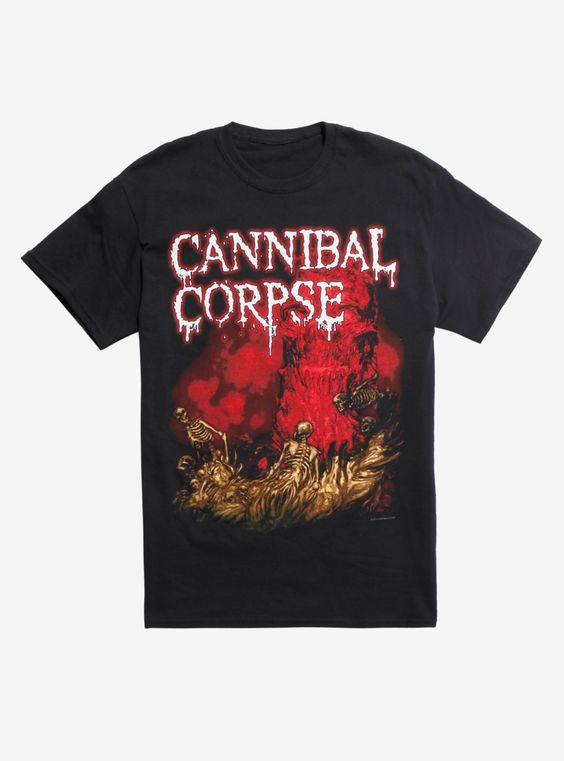 Cannibal Corpse Skeleton River T-shirt DV01