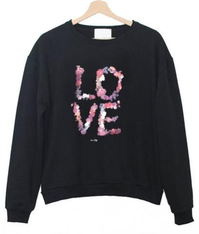 Love Flower Sweatshirt DV01