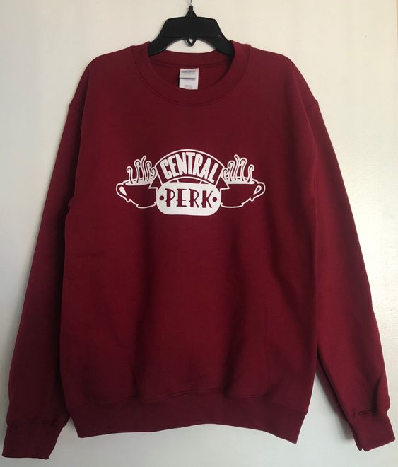 Love coffee and the show Friends Sweatshirt DV01