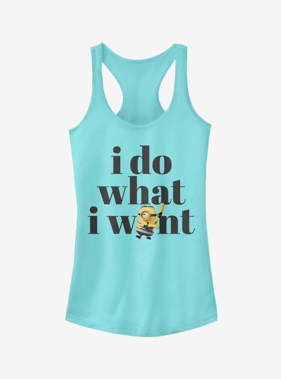 Minion Do What I Want Girls Tank Top DV01