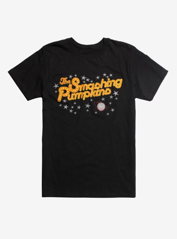 Smashing Pumpkins Logo T-Shirt DV01