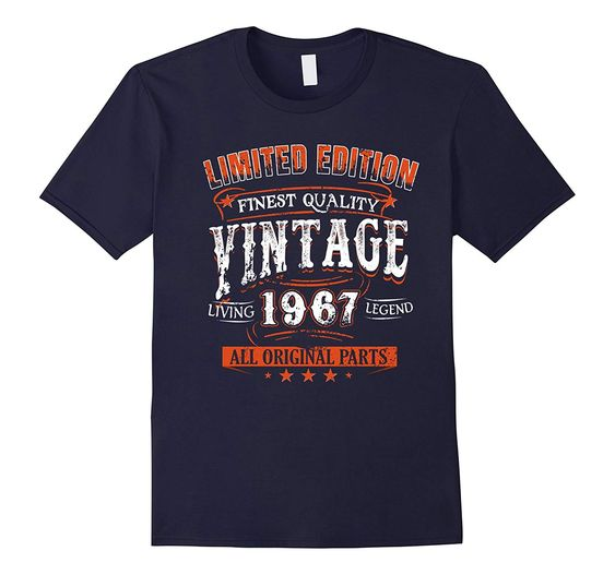 1967 T-Shirt 50th Birthday Gifts 50 Year Old B-day Vintage DAN
