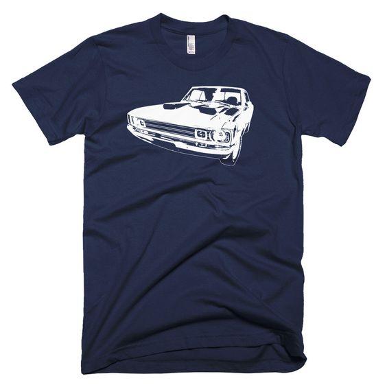 1972 Dodge Dart - Modern Rodder - Men's T-Shirt DAN