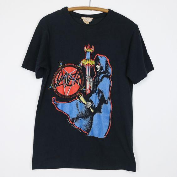 1990 Slayer Spill The Blood Shirt DAN