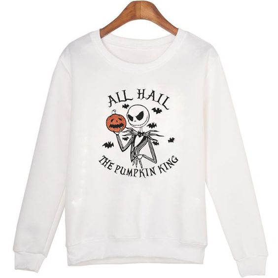 All Hail the Pumpkin King Sweatshirt EL01