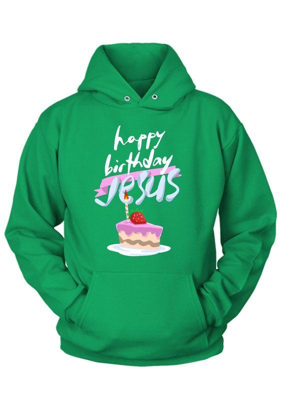 Birthday Jesus Christmas Hoodie AZ