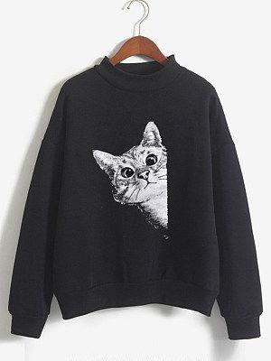 Cat Sweatshirt FD