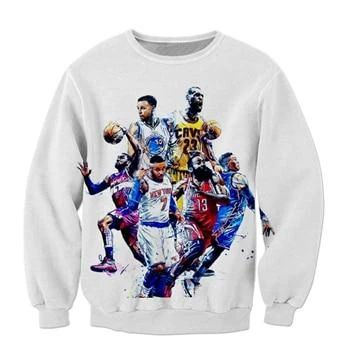 Celebrity Stephen Curry Lebron Sweatshirt EL01