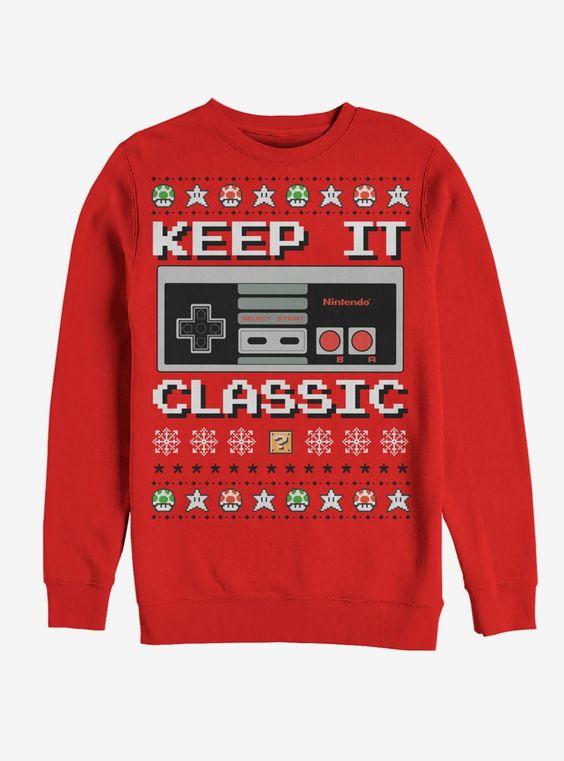 Classic Christmas Sweatshirt SR01