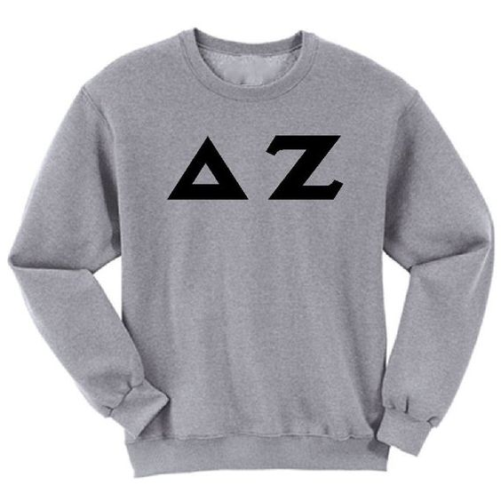 Delta Zeta athletic Sweatshirt DAN