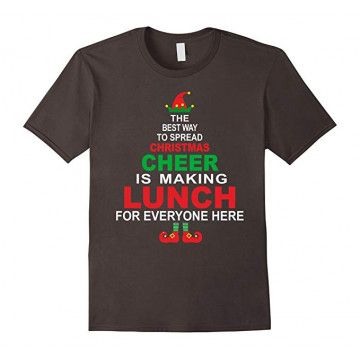 Funny Lunch Christmas T Shirt SR01
