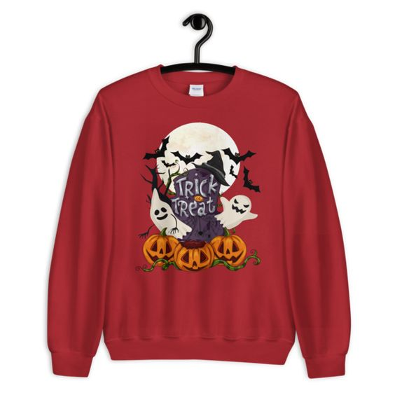 Funny and scary halloween Sweatshirt EL01