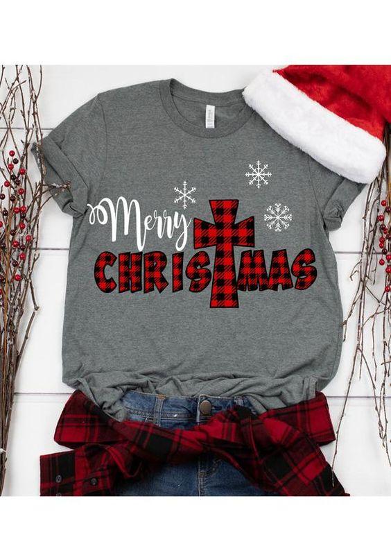 Merry Christmas T Shirt SR01