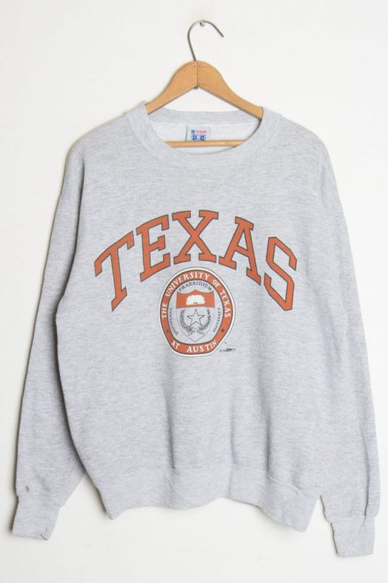 TEXAS University Sweatshirt DAN