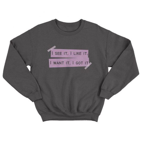 Aariana Grande Lyrics Sweatshirt N14ER