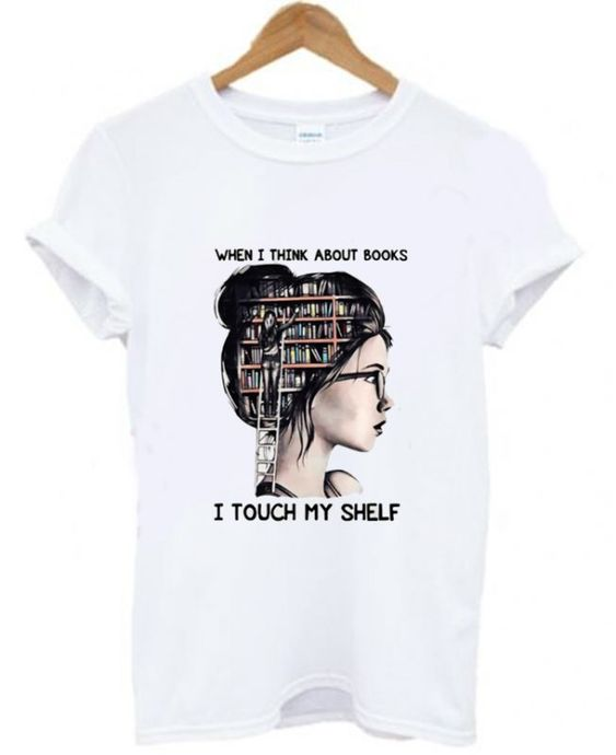 About Books T Shirt SR20D