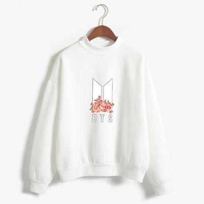 Bts rose sweatshirt D2ER