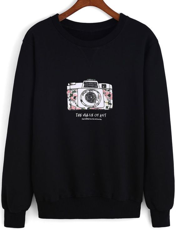 Camera Sweatshirt D2ER