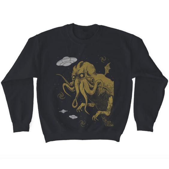 Cthulhu Sweatshirt FD3D