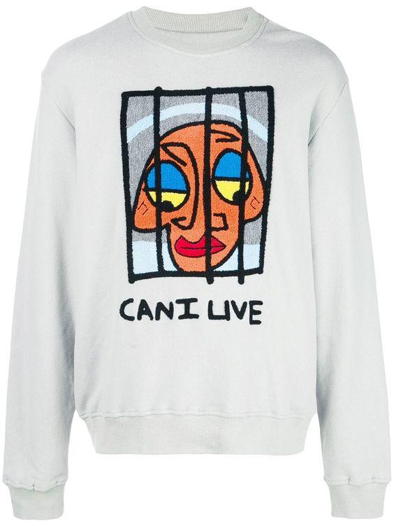 Haculla Can I Live Sweatshirt FD3D
