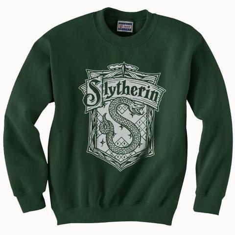 Slytherin Crest Sweatshirt D2VL
