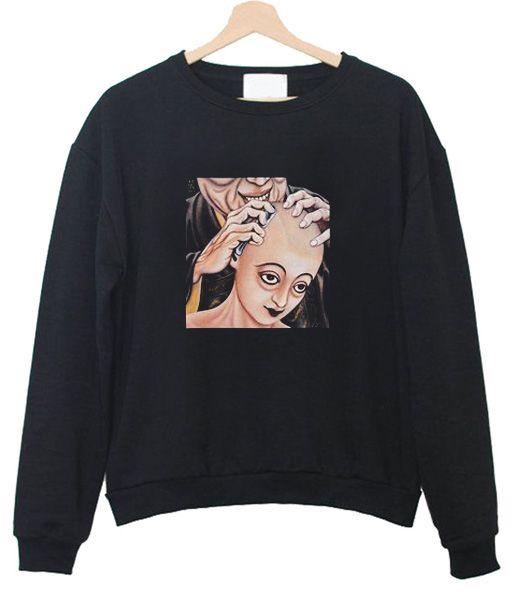 bald head Sweatshirt FD3D
