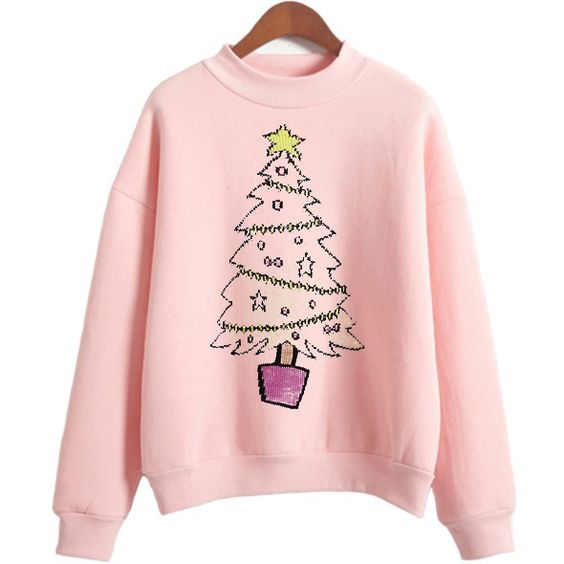 christmas tree holiday Sweatshirt FD3D