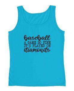Baseball Diamonds Ladies' Tanktop ND20J0