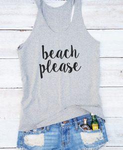Beach please Tanktop ND13J0