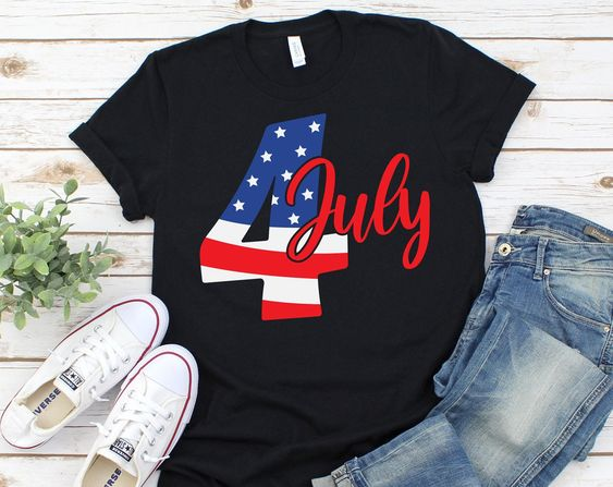 4th of July American T-Shirt ND6F0