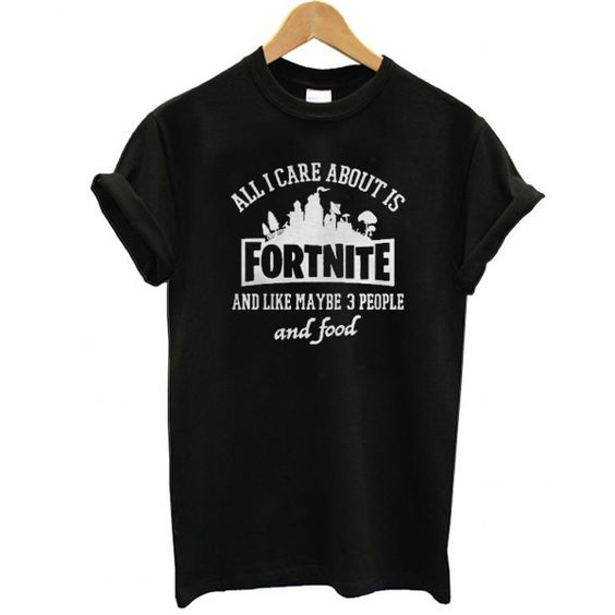 About is fortnite T Shirt SR28F0