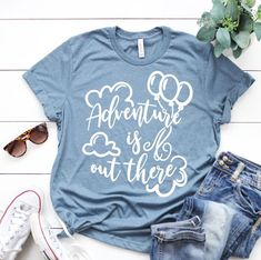 Adventure Is Out There Tshirt EL7F0