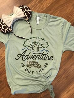 Adventure Is Out There Tshirt AS7M0