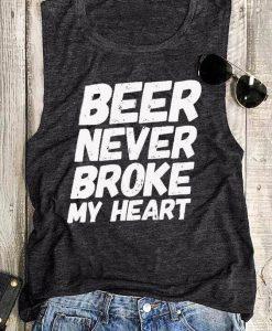 Beer Never Broke My Heart Tanktop RF23M0
