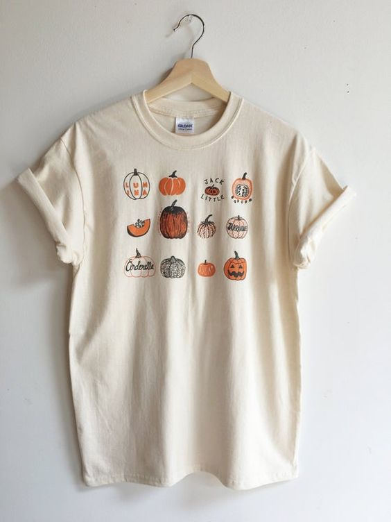 All Pumpkins T Shirt LY11A0