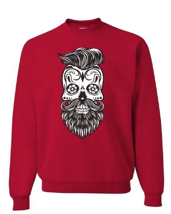 Hipster Sugar Skull Sweatshirt FD29JN0