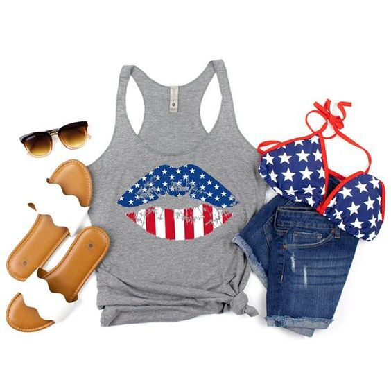 4th of July Tanktop FY29JL0