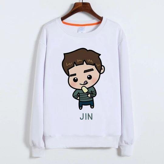 BTS jin Sweatshirt AL18JL0