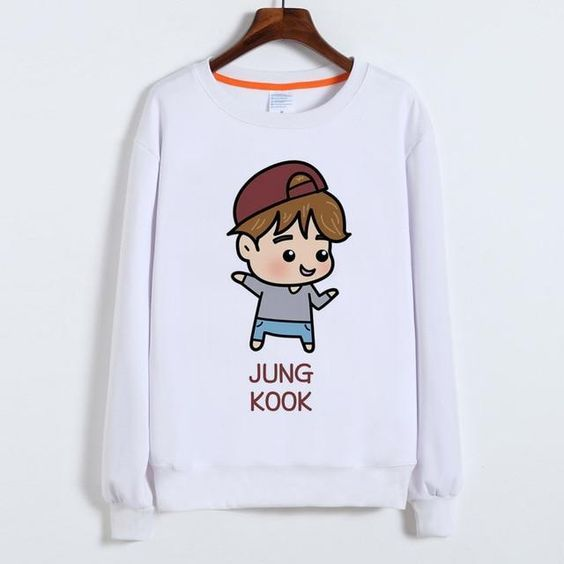 BTS jung kook Sweatshirt AL18JL0