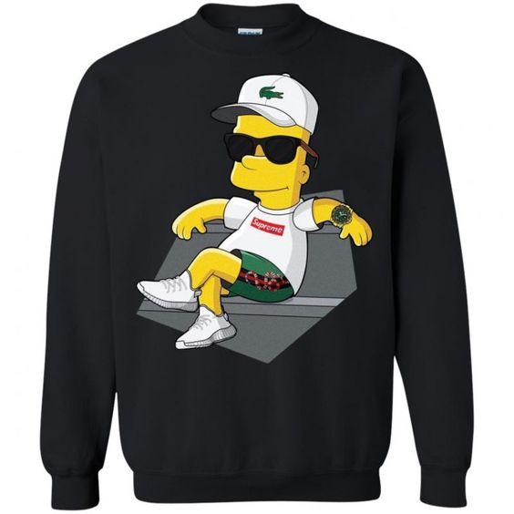 Bart simpson Sweatshirt AL18JL0