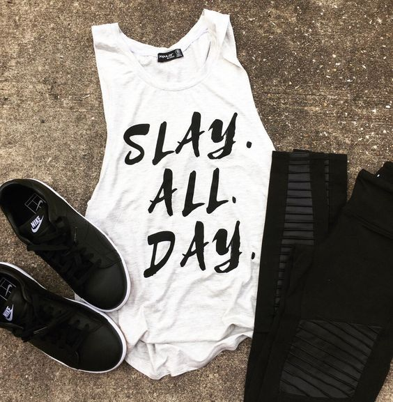Slay All Day Tanktop FY29JL0