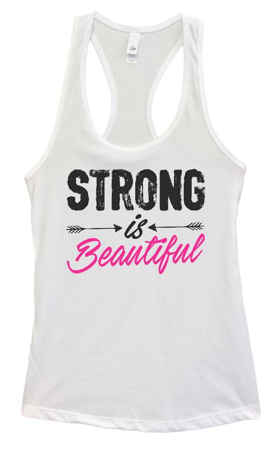 Strong Is Beautiful Tanktop FY29JL0
