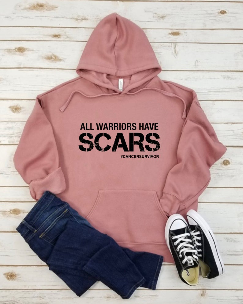 All Warriors Have Scars Hoodie RF26AG0