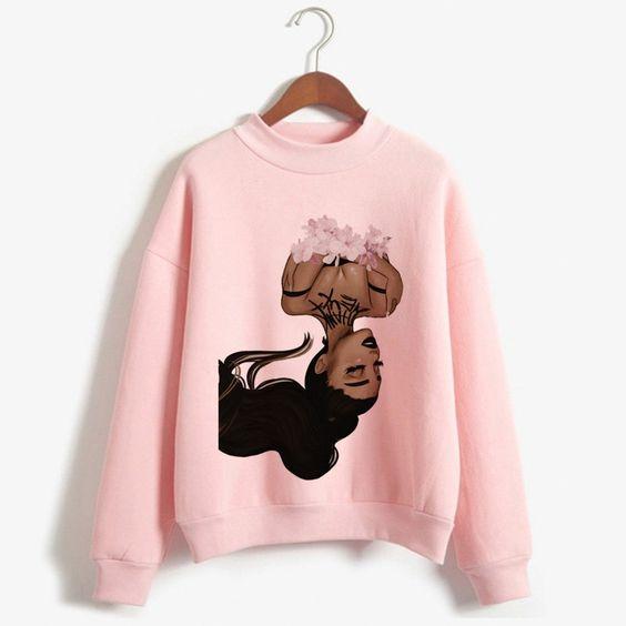Ariana Grande Thank U Sweatshirt YN20AG0