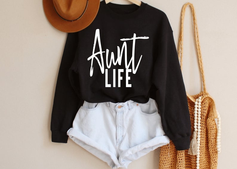 Aunt Life Sweatshirt YT13AG0