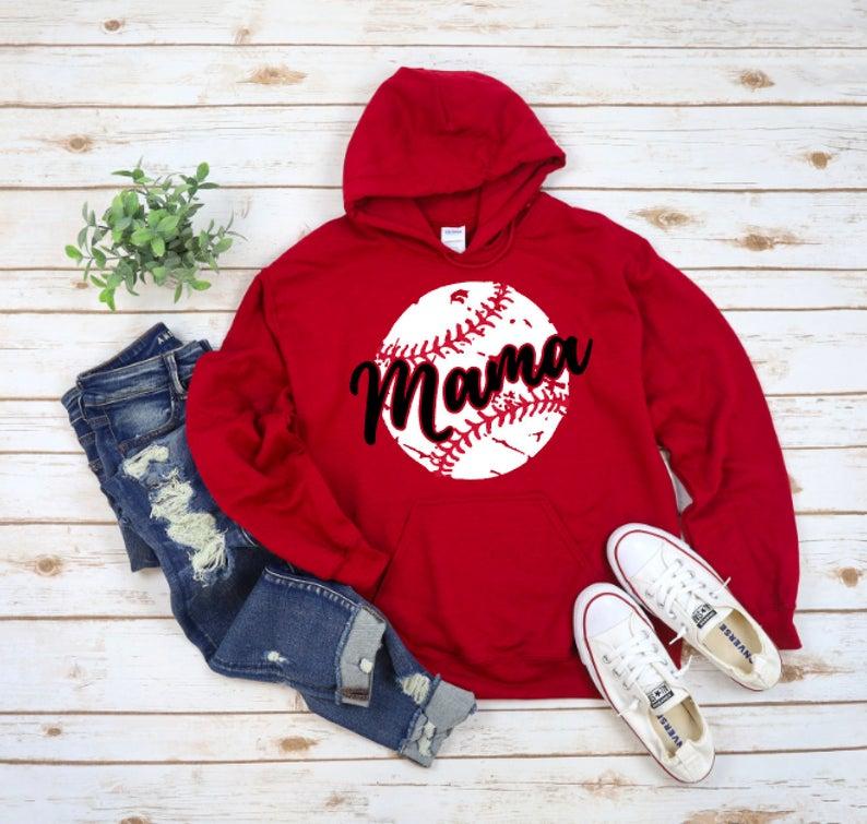 Baseball Mama Hoodie RF26AG0