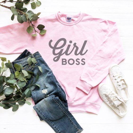 Girl Boss Sweatshirt YN20AG0