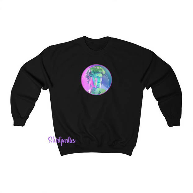 Aesthetic Crying Sweatshirt ED25JN1